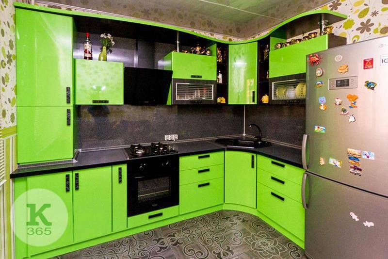 Салатовая кухня Лотарингия артикул: 149605