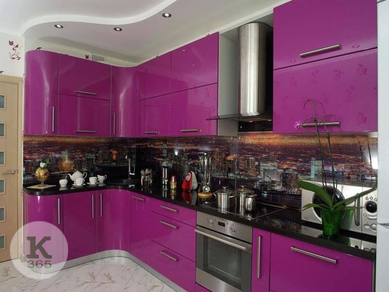 Лиловая кухня Модерн Квадро артикул: 371522