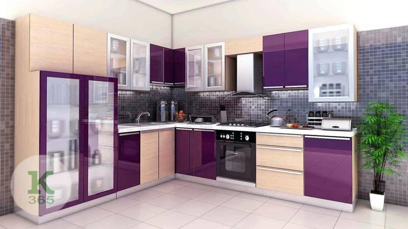 Лиловая кухня Классика Квадро артикул: 373248