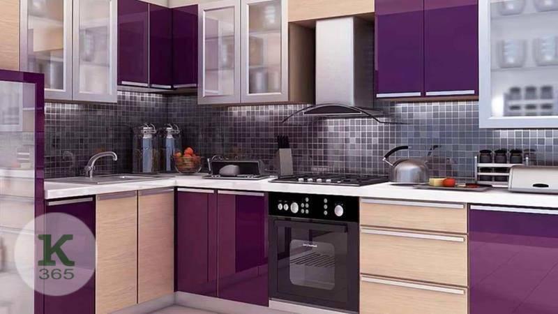 Лиловая кухня Арес Квадро артикул: 382813