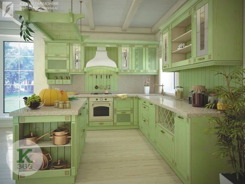 Оливковая кухня Женский каприз Квадро артикул: 431521