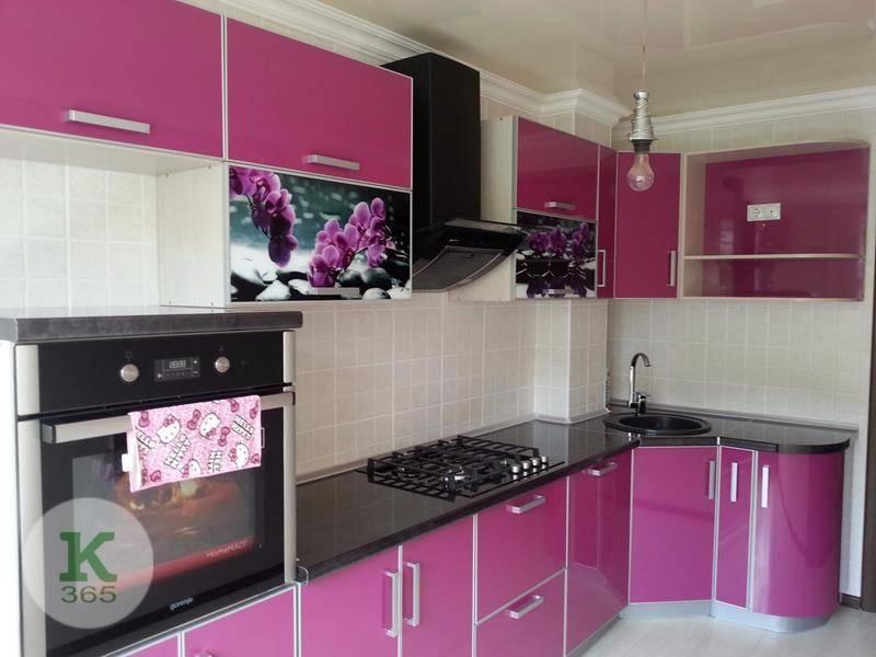 Розовая кухня Гармония М Квадро артикул: 480200
