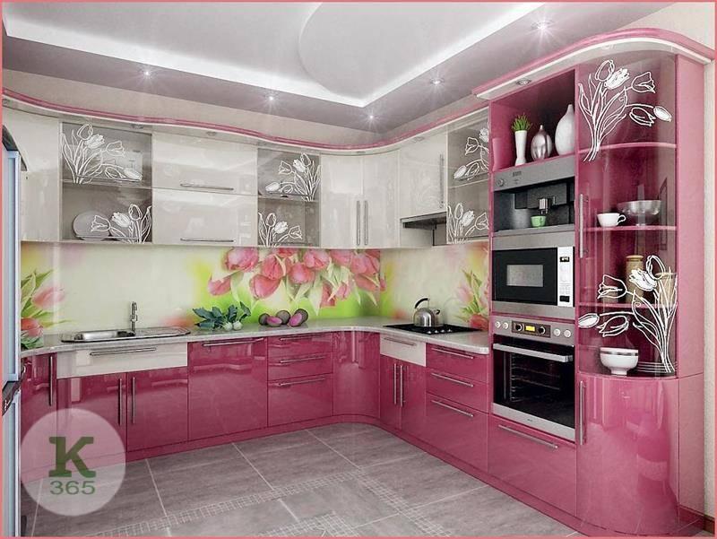 Розовая кухня Виктория Гранда Квадро артикул: 484128
