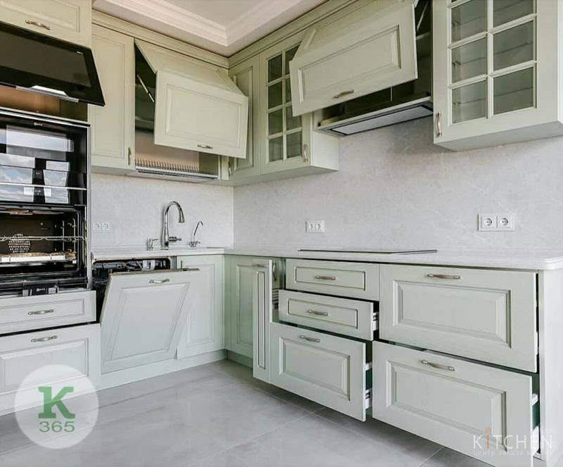 Фисташковая кухня Domus Квадро артикул: 498002