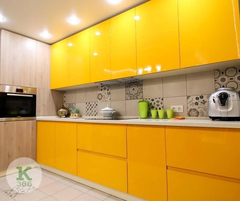 Желтая кухня Терра артикул: 66613