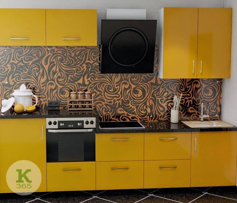 Желтая кухня Софт артикул: 66978