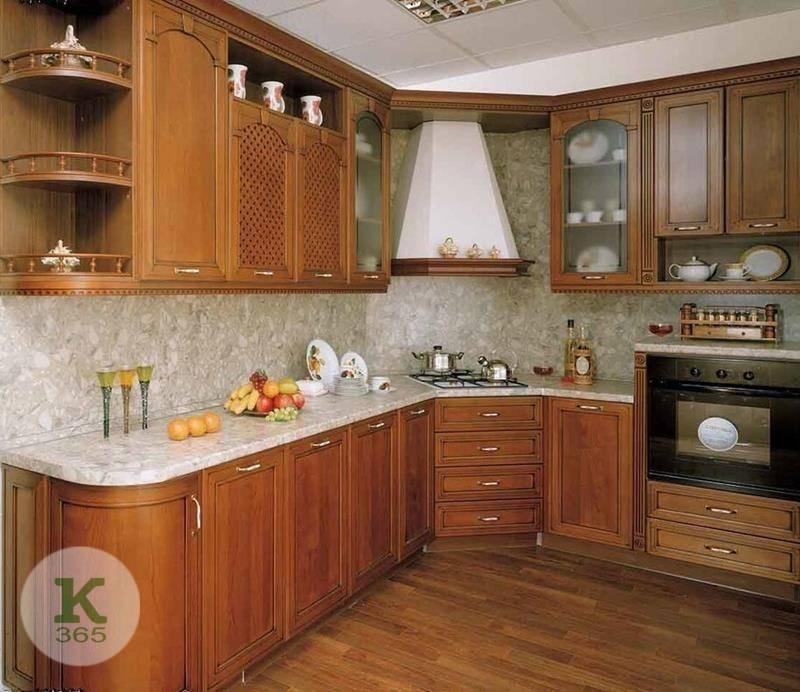 Кухня из березы Эмилия артикул: 82013