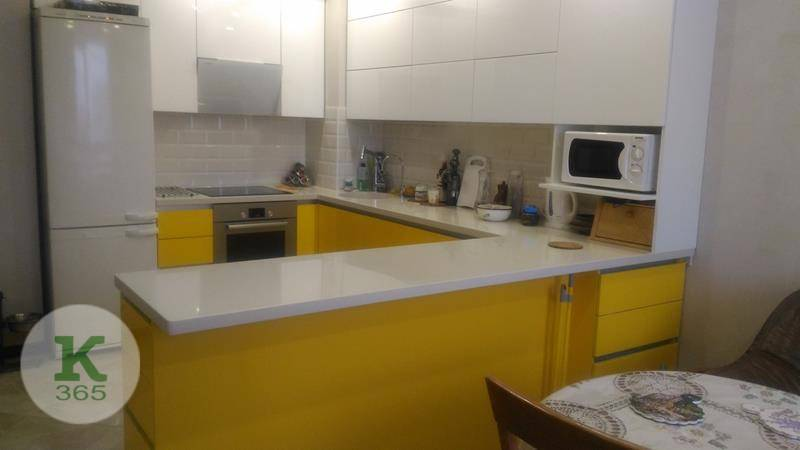 Желтая кухня Абрис артикул: 000986645